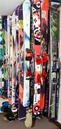 Telemark and Alpine Touring Skis
